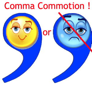 To comma or not to comma…
