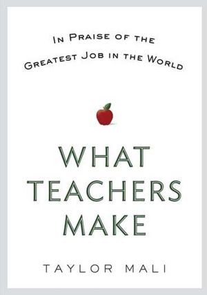 What teachers make…