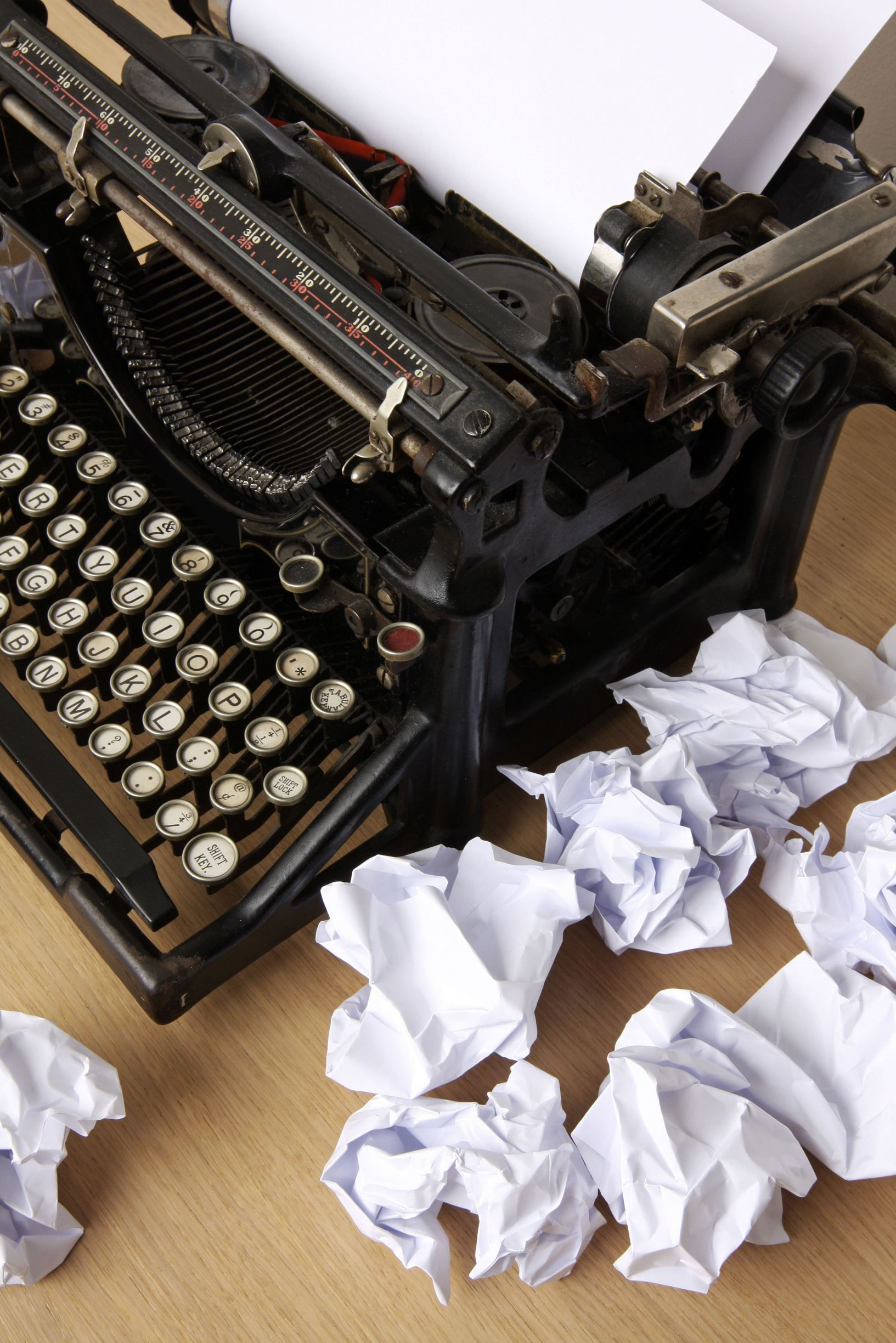 Pen, paper, laptop, iPad, typewriter, quill, parchment…