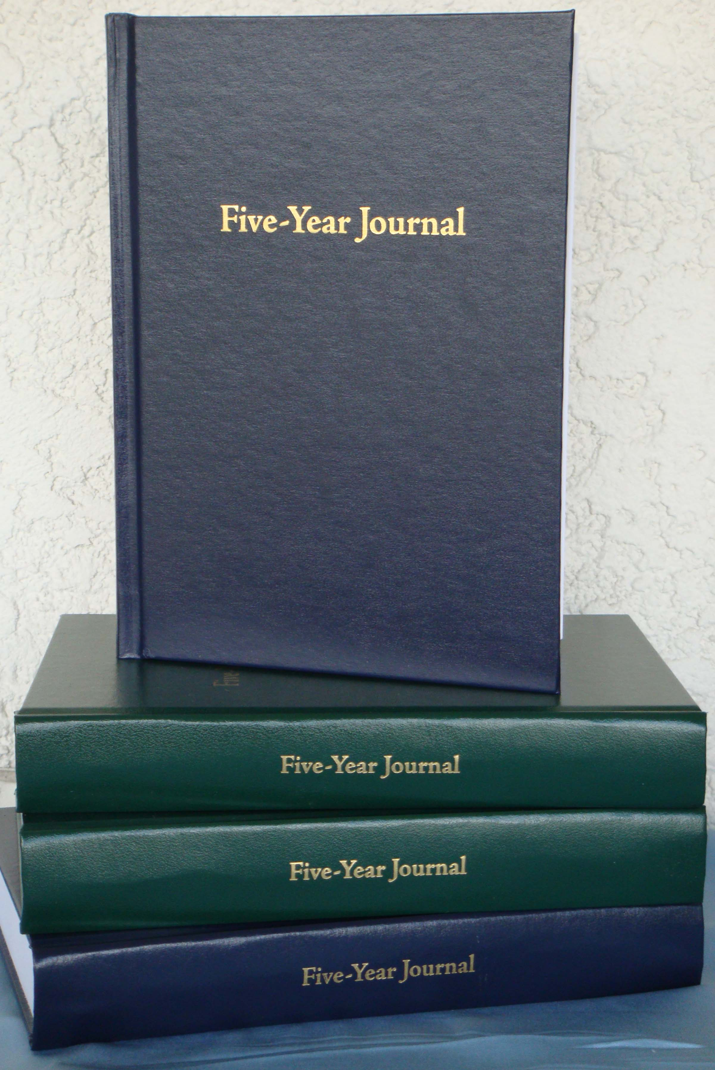 Extended Savings on Five-Year Journals