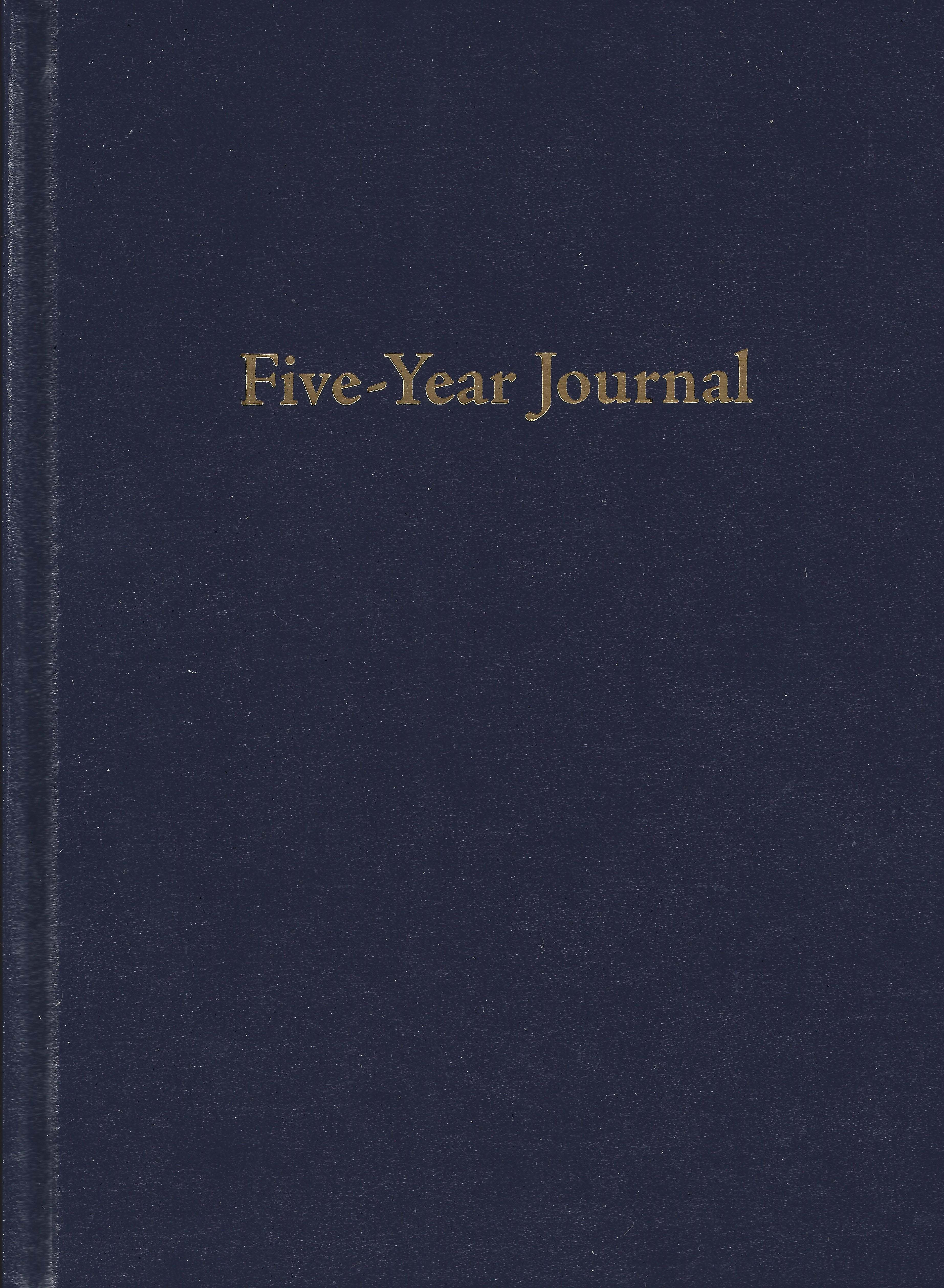 Try Keeping a Five-Year Journal for a Week