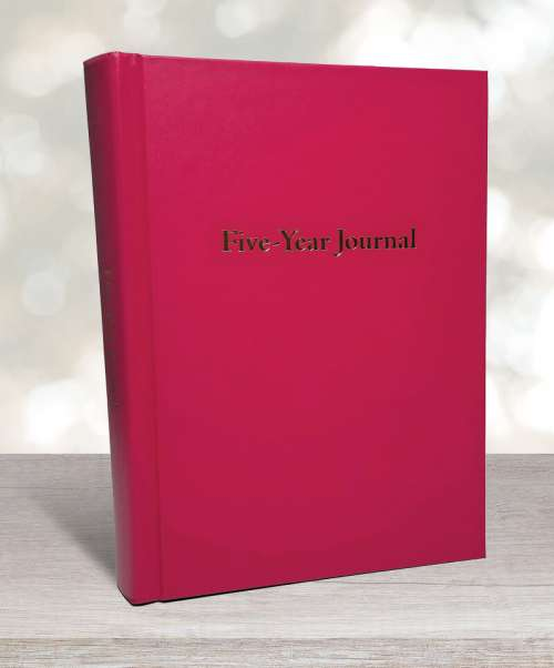 Five-year journal petal rose