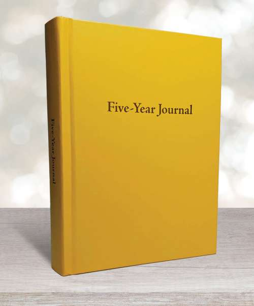 Five-year journal yellow