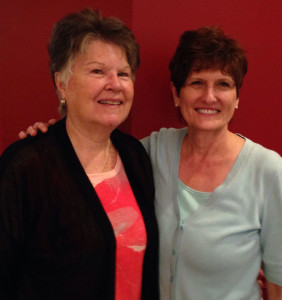 Margie and Patricia