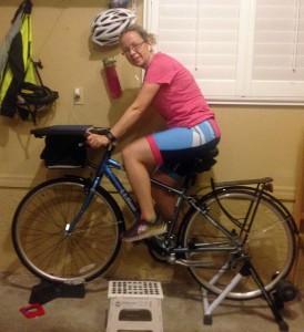Brenda on Her Bike