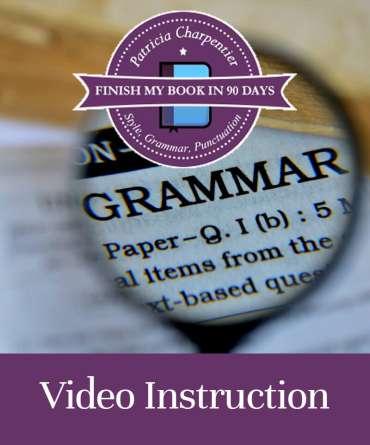 Style Grammar Punctuation
