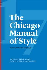 The Chicago Manual of Style Seventeenth Edition