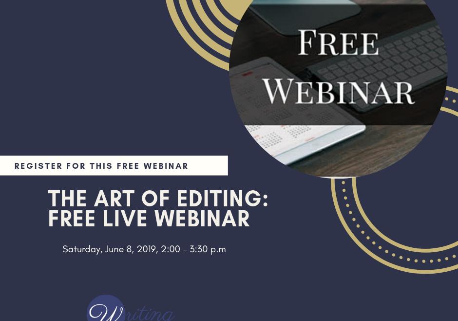 The Art of Editing: Webinar Replay