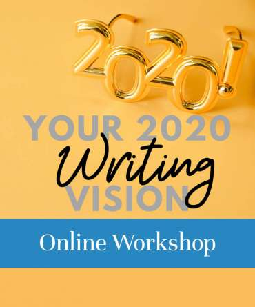 2020 Writing Vision Online Workshop