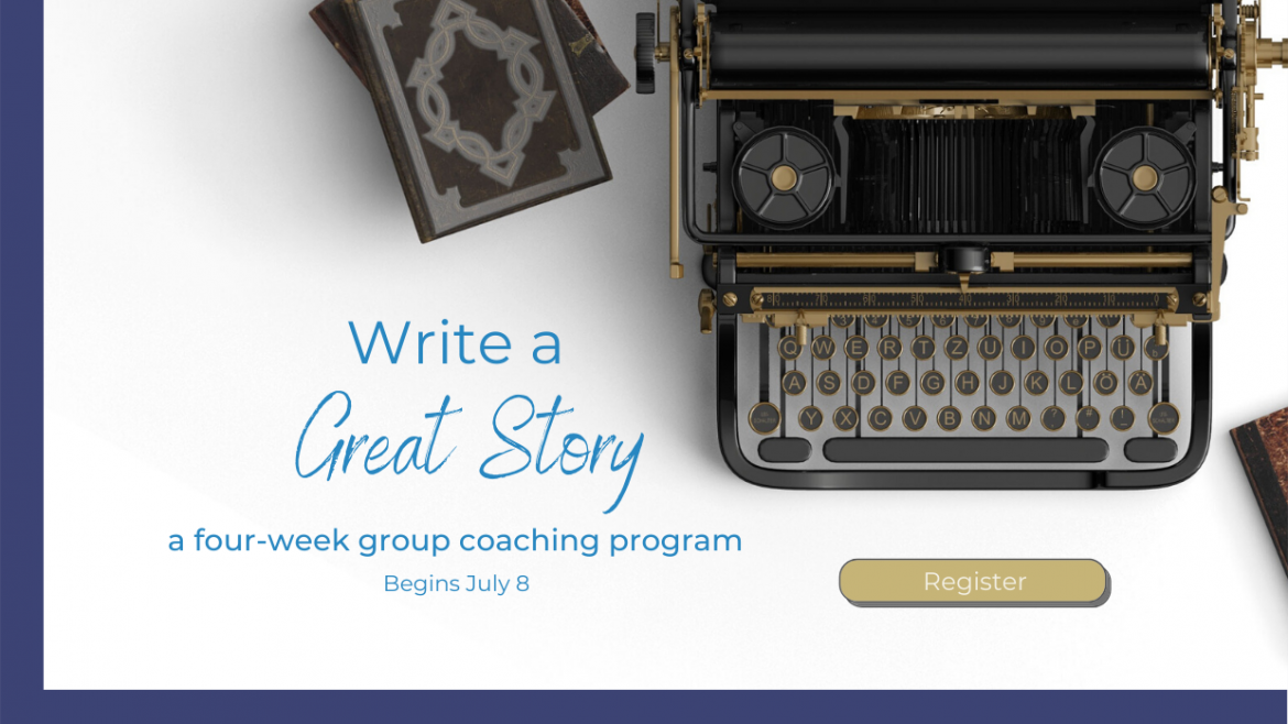Write a Great Story four-week group program