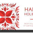 Happy Holidays from Writing Your Life